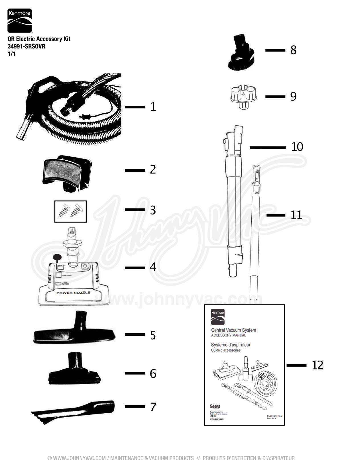 kenmore s107 central vacuum manual