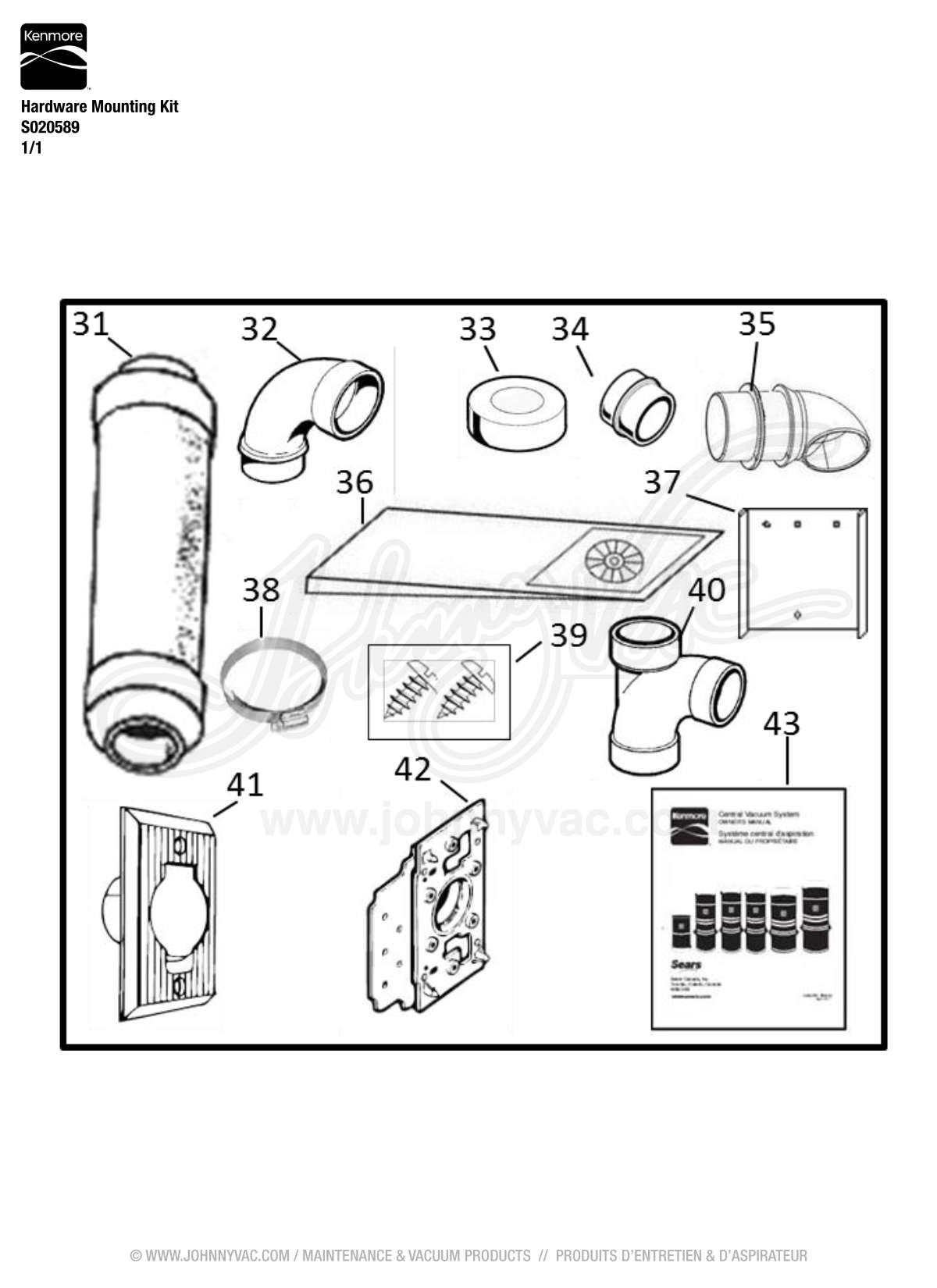wiring diagram for kenmore central vacuum